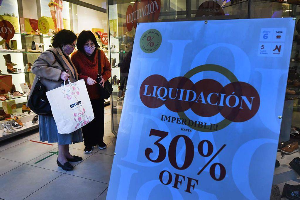 La actividad económica creció 10% en la comparación interanual. Foto:José Gutierrez / Los Andes