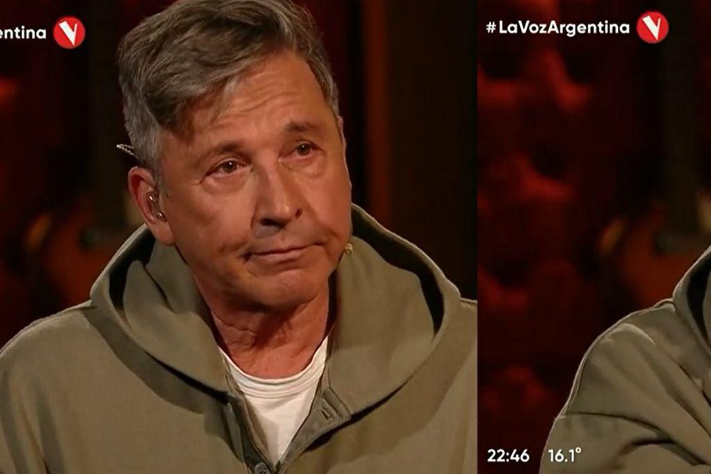 """El llanto de Ricardo Montaner al escuchar cantar a Steffania su canción """"Será"""" en La Voz Argentina"""