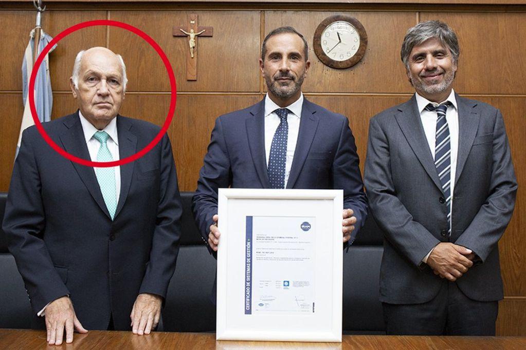 Murió uno de los jueces que debía juzgar a Cristina Kirchner