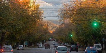 El lunes presentará un leve ascenso de la temperatura.  Ignacio Blanco / Los Andes