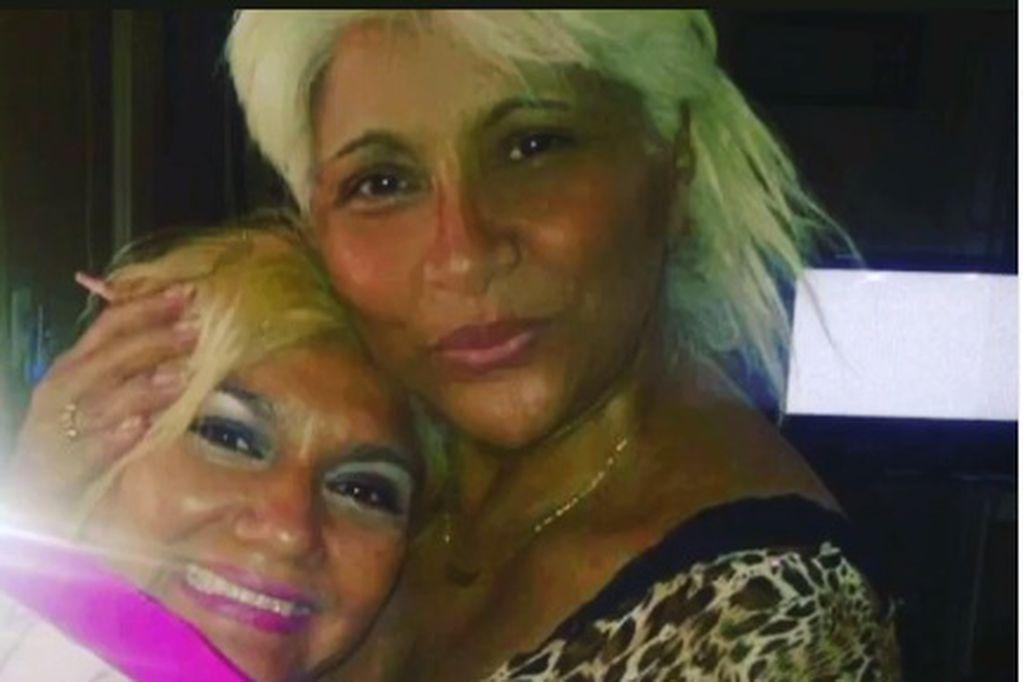 Con las lágrimas a flor de piel, Gladys La Bomba Tucumana difundió un mensaje sobre su hermana fallecida