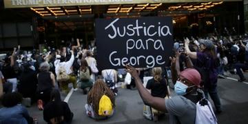 Las marchas continúan para pedir justicia por George Floyd. Gentileza- RT