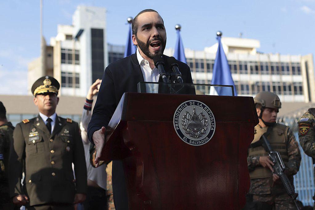 Crisis político-institucional en El Salvador