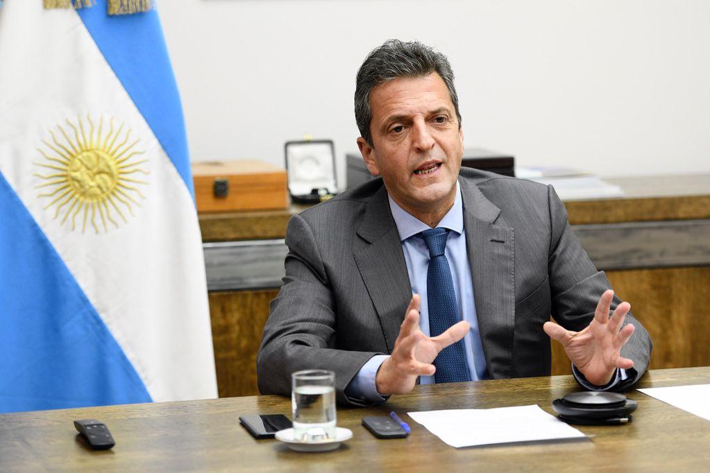 Sergio Massa en la 18° edición de la Conferencia internacional de Perspectivas Políticas y Económicas para la Argentina. Foto: Prensa diputados