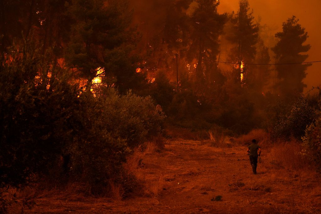 Miles de hectáreas son devoradas por las llamas en Grecia y Turquía.