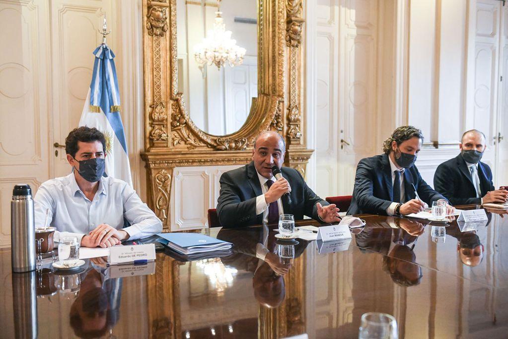 Desde el lunes, y con nuevo gabinete, la Casa Rosada fue escenario esta semana de reuniones de trabajo, conferencias de prensa (Prensa Jefatura de Gabinete).