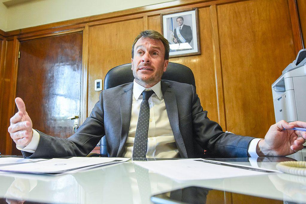 Lic. Lisandro Nieri, Ministro de Hacienda de la provincia de Mendoza