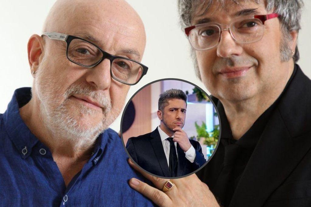 Jey Mammón se reencontró con Juan Carlos Baglietto y Lito Vitale en un pub mendocino.