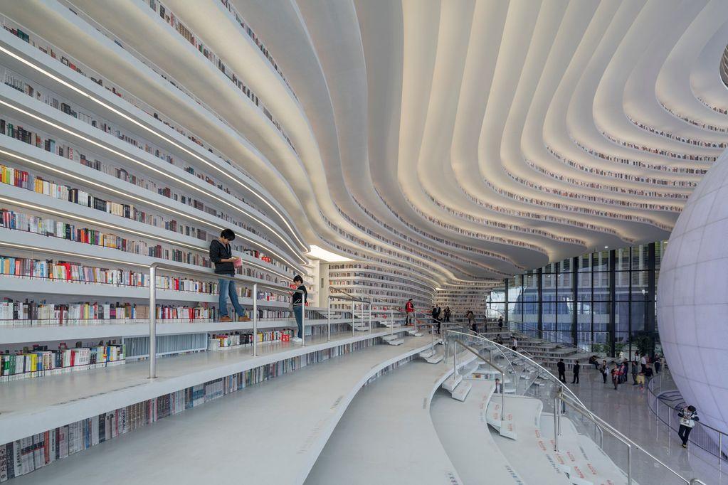 Estas son las bibliotecas que más inspiran en el mundo