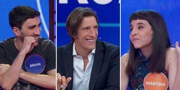 Iván de Pineda fue desafiado en vivo por los ex campeones de Pasapalabra ;Martina y Brian