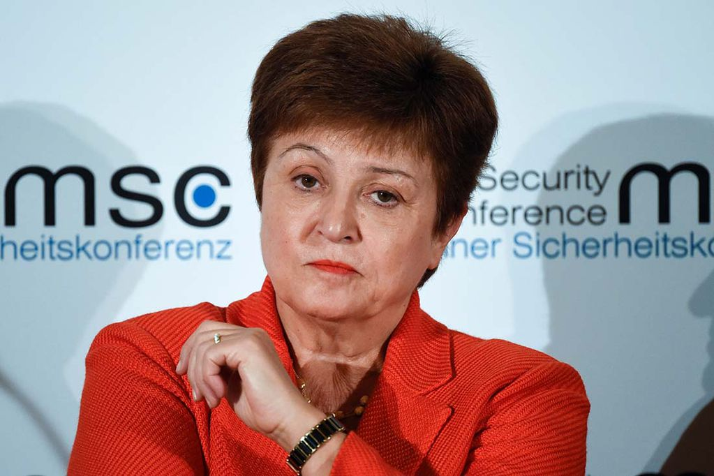 Kristalina Georgieva del FMI.