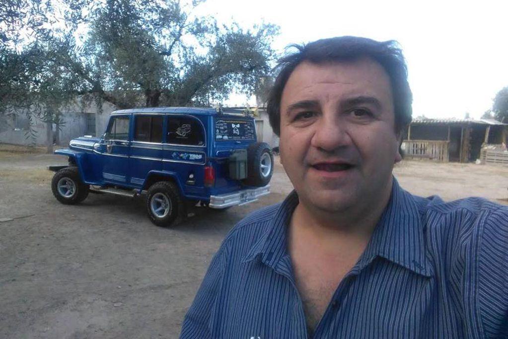 Mauricio González, fundador y presidente del club de Estancieras y Baqueanos de Mendoza/Gentileza