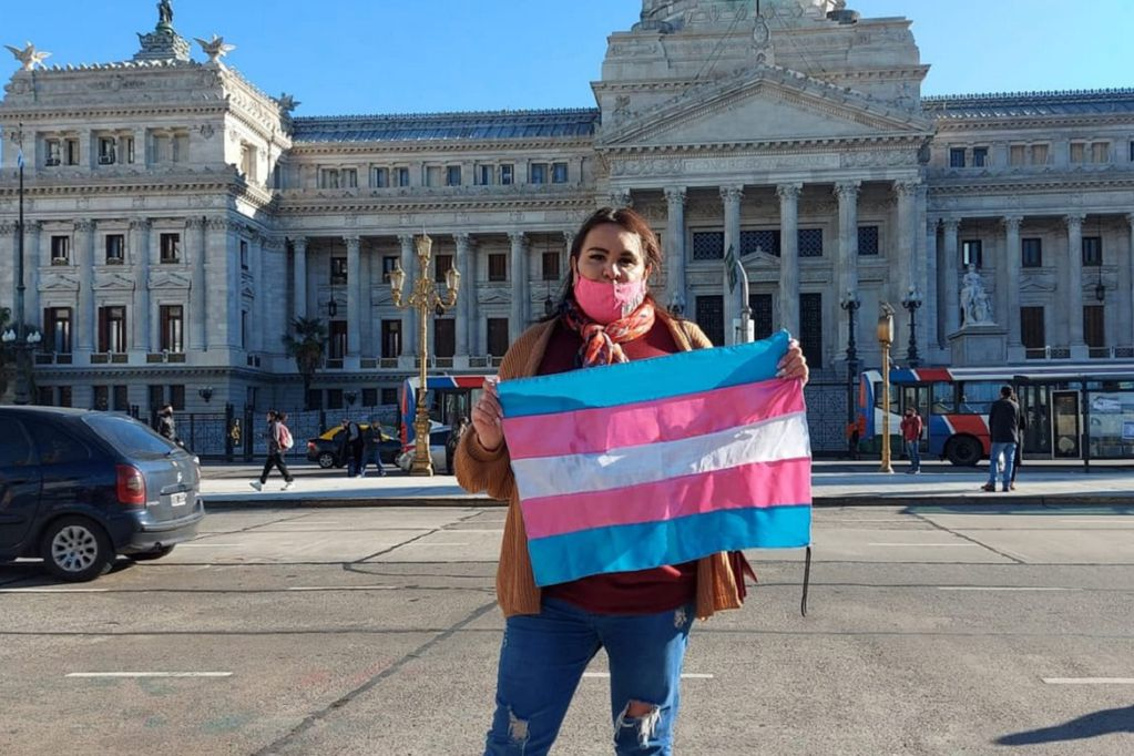 Clara Fox, sanrafaelina radicada en Buenos Aires, cuenta sobre su lucha por identidad, empleo y salud (Gentileza)