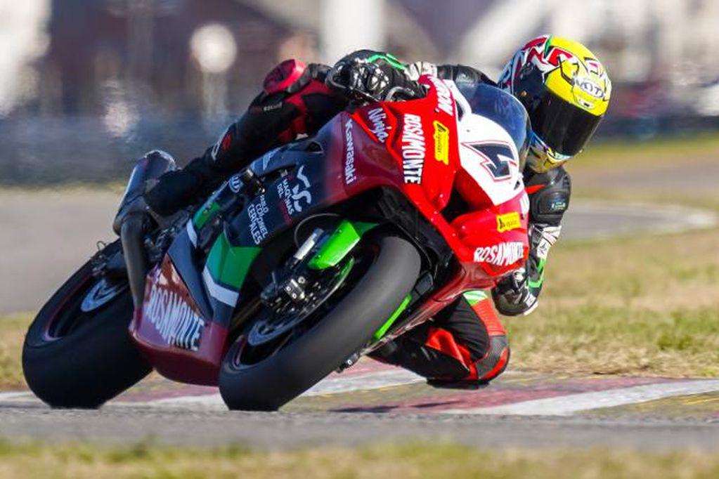 Ribodino fue el más veloz del viernes para el Superbike Argentino en Buenos Aires