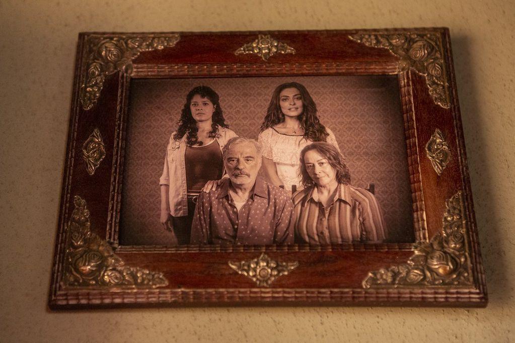 Así fue ambientado el hogar de la familia Ramírez, con productos antiguos de segunda mano.