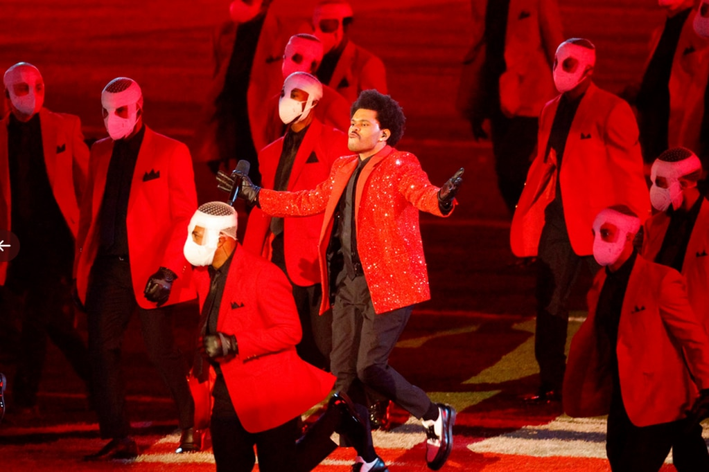 The Weeknd, en el Super Bowl LV