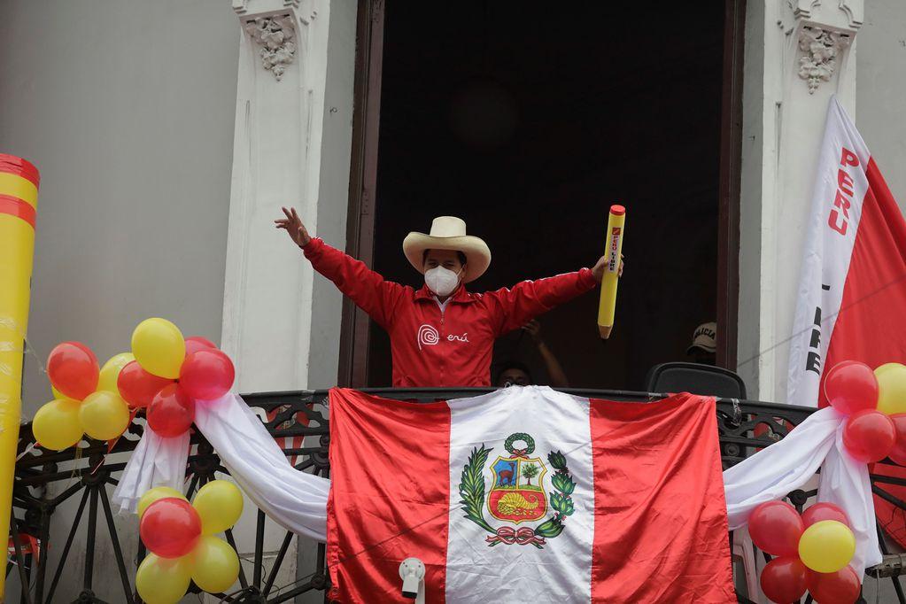 Pedro Castillo, candidato presidencial en Perú. / Archivo