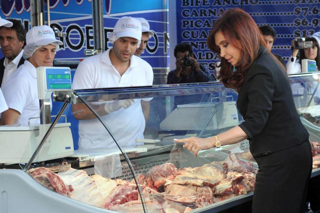 "CFK usó un video de TN para destacar que la carne ""no sube hace 2 meses"""