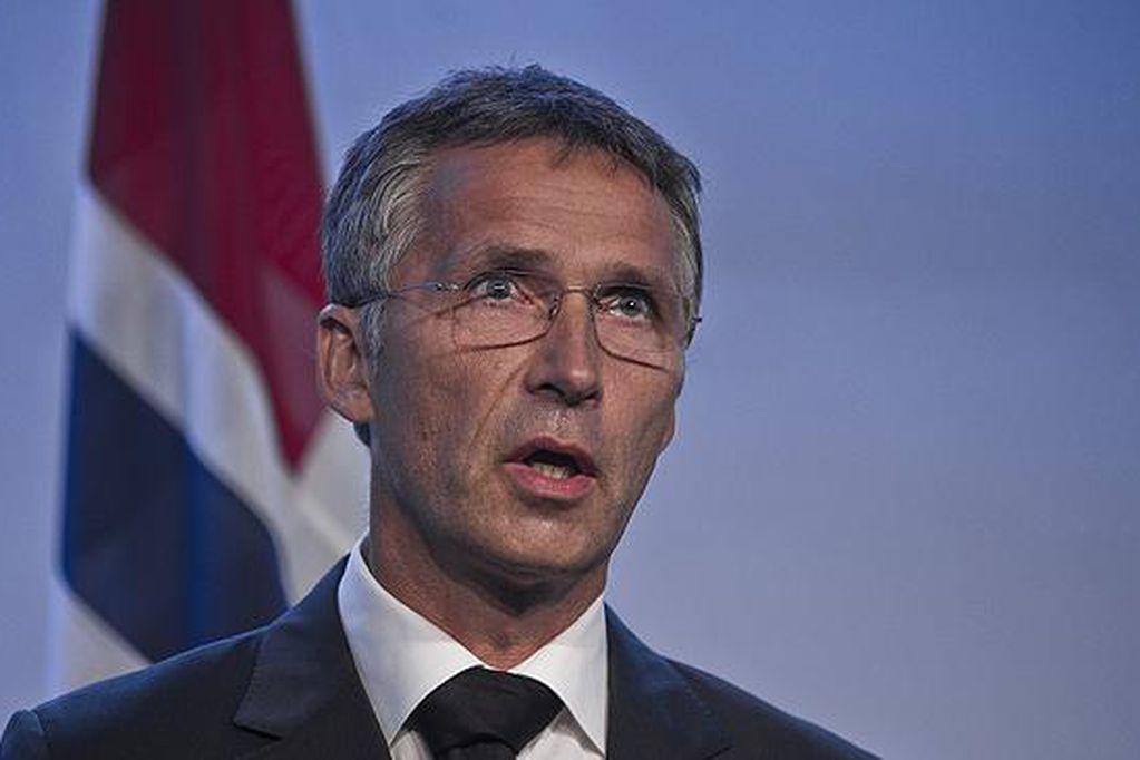 Secretario general de la OTAN, Jens Stoltenberg. Los Andes
