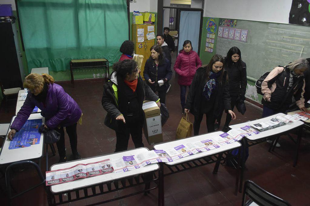 Habrá hasta 17 boletas en el cuarto oscuro en las próximas elecciones PASO. Imagen Ilustrativa. Archivo / Los Andes