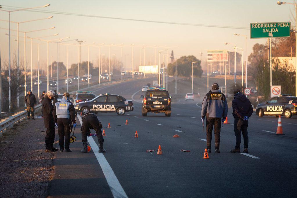 Los mayores de 60 años son la población en más riesgo en accidentes de tránsito. Foto: Ignacio Blanco / Los Andes