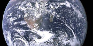 PLANETA. Tierra (AP/Cortesía de Earth Sciences and Image Analysis Laboratory/Nasa Johnson Space Center/Archivo).