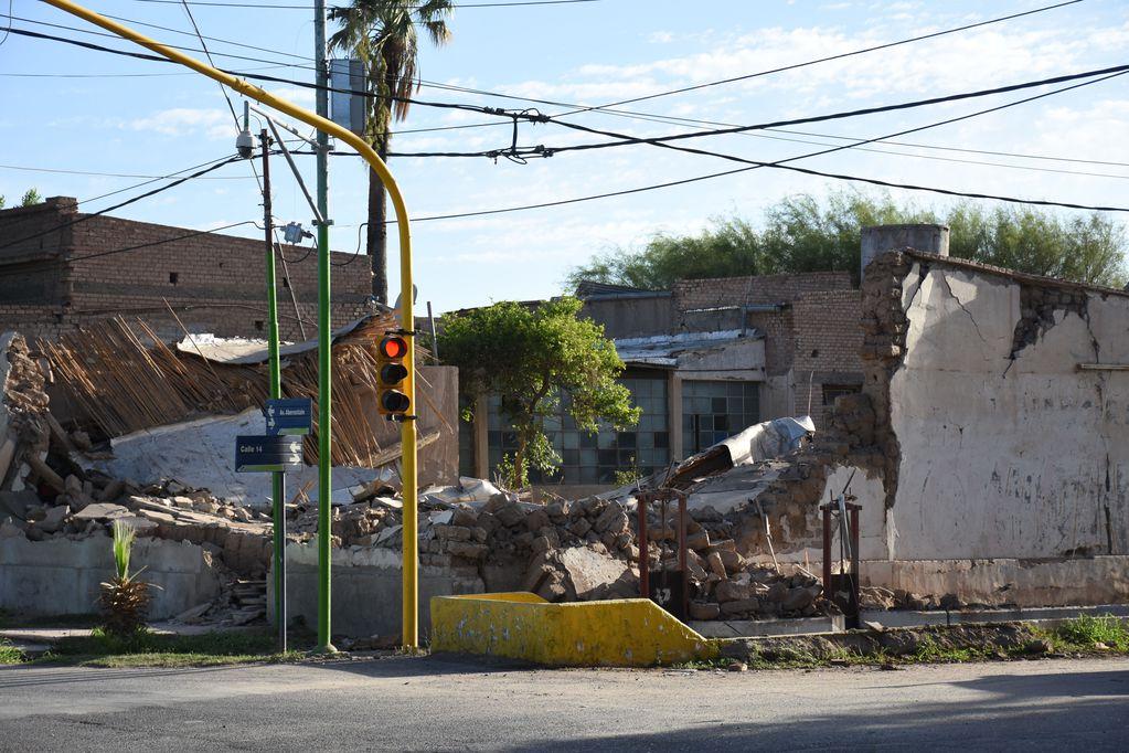 Balance. Las viviendas que no son sismo resistentes, nuevas construcciones o ampliaciones sin las aprobaciones correspondientes tienen más posibilidades de sufrir daños. Foto: Gentileza.