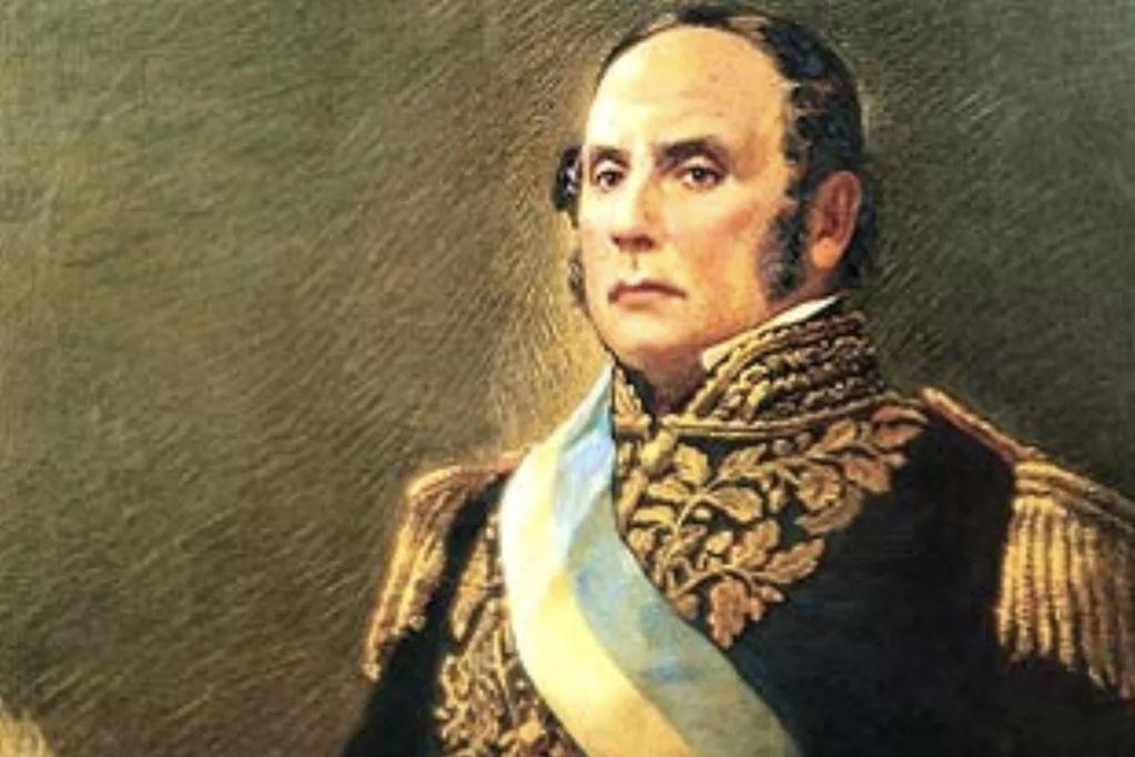 General Justo José de Urquiza.