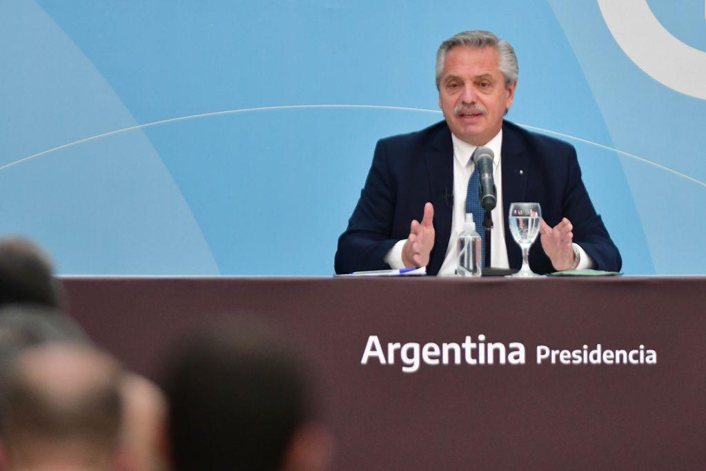 Alberto Fernández, Presidente de la República Argentina. Foto: Federico Lopez Claro