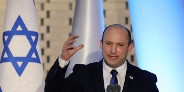 Primer ministro israelí, Naftali Bennett.
