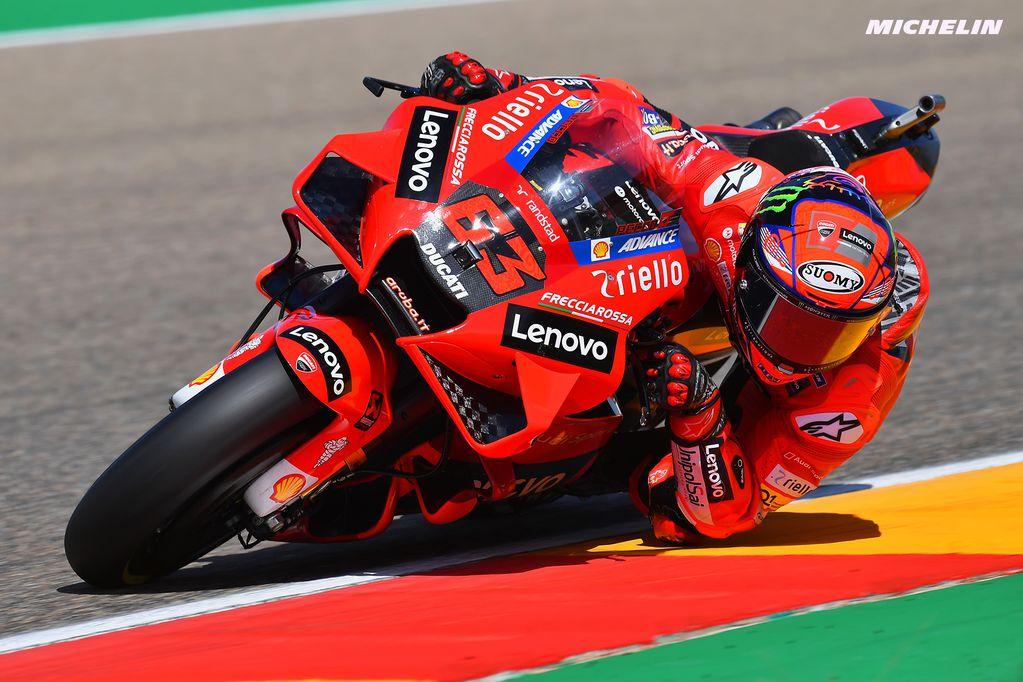 MotoGP: Bagnaia ganó una gran carrera en Aragón