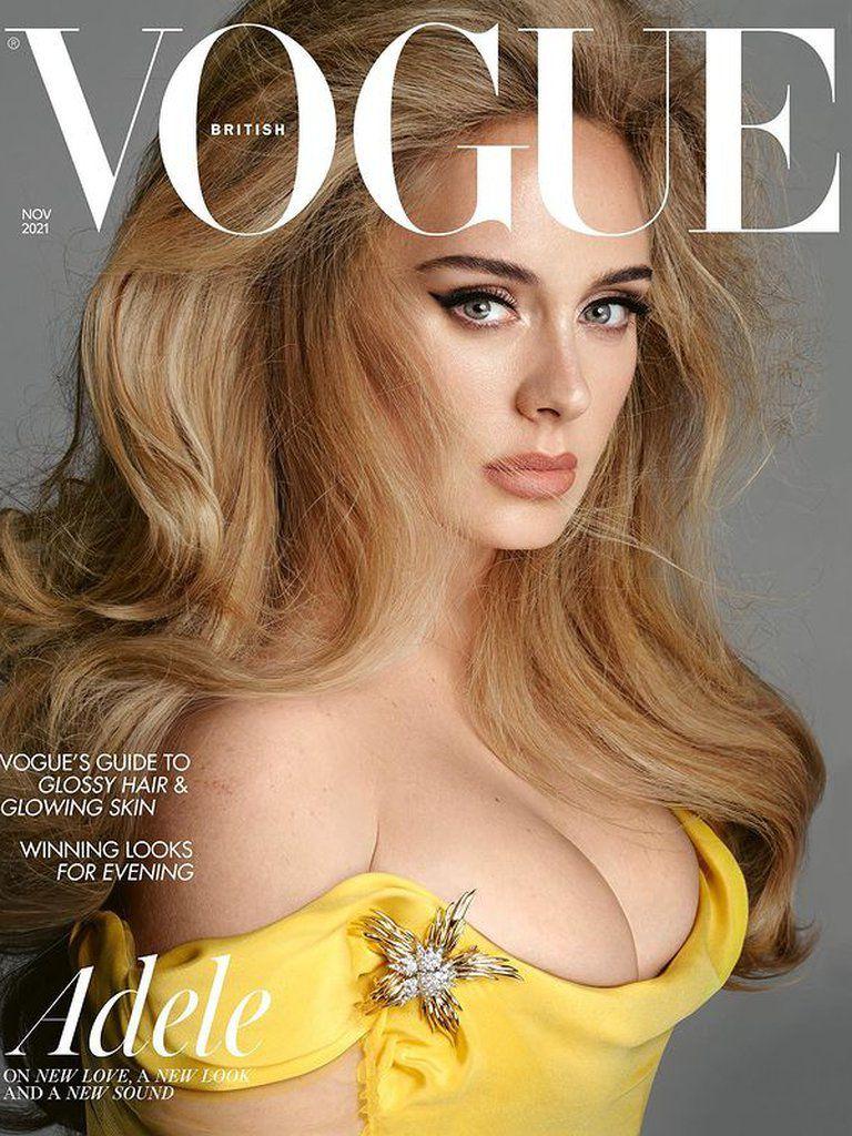 Adele es tapa de Vogue con un look impactante que muestra su belleza y su  nuevo físico | Da La Nota