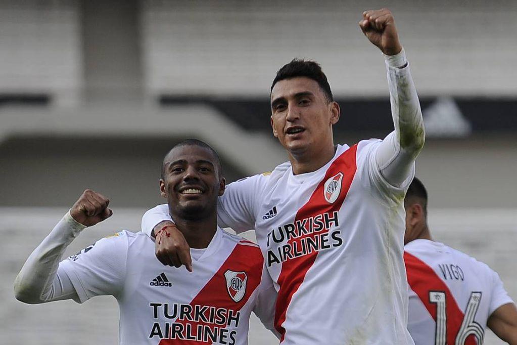 Matías Suárez y Nicolás De La Cruz, dos jugadores clave en el esquema de Gallardo que están lesionados. / Gentileza.