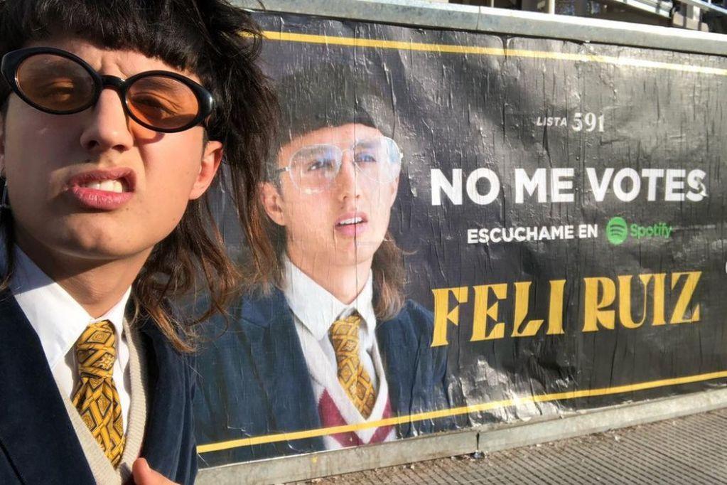 """El nuevo artista del indie mendocino: Feli Ruiz presenta hoy su disco """"No quiero ser un chico cool"""""""