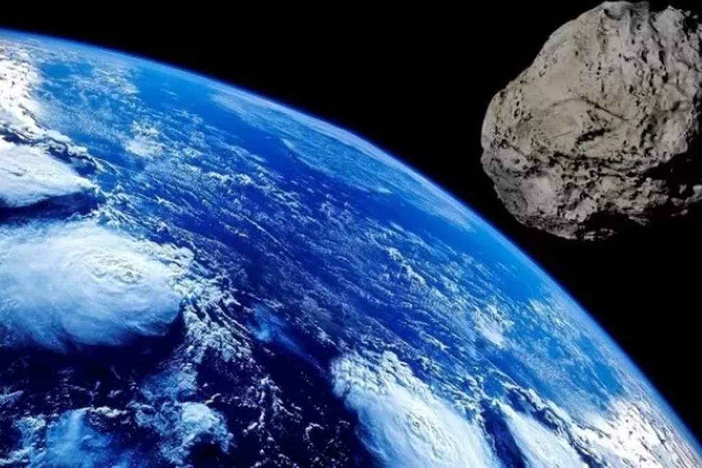 Imagen ilustrativa de asteroide. Foto: Gentileza
