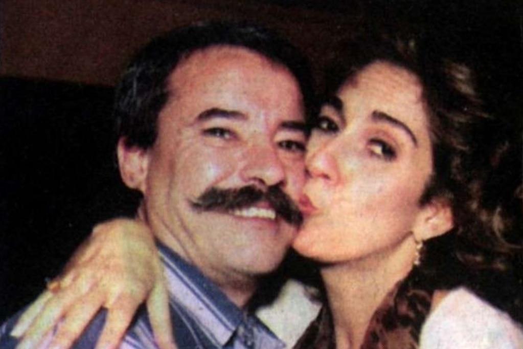 """""""El Vasco"""", el gran amor de Georgina Barbarossa que fue asesinado y que ella no deja de extrañar"""