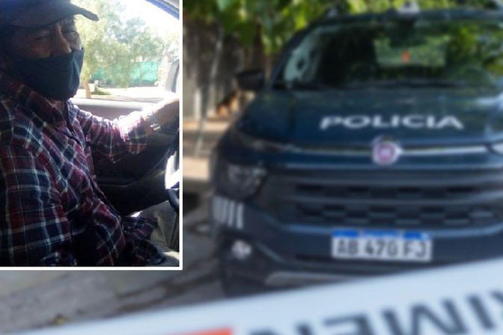 Productor asesinado en Lavalle: hallaron la camioneta con signos de un principio de incendio