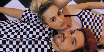 Ale Sergi y su novia Cintia Bustamante