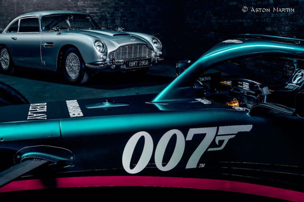 Aston Martin y James Bond, unidos en la F1