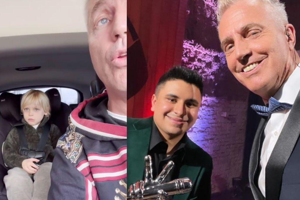Marley y Mirko decidieron hacerle un especial regalo al ganador de La Voz Argentina