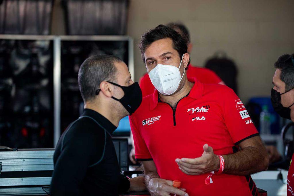 Mauricio Ferreira estuvo en la décima fecha del Súper TC2000