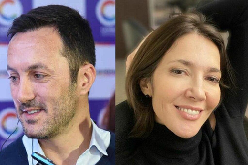 Luis Petri y Cristina Pérez, juntos.