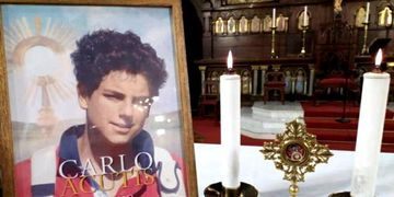 Reliquia de Carlos Acutis
