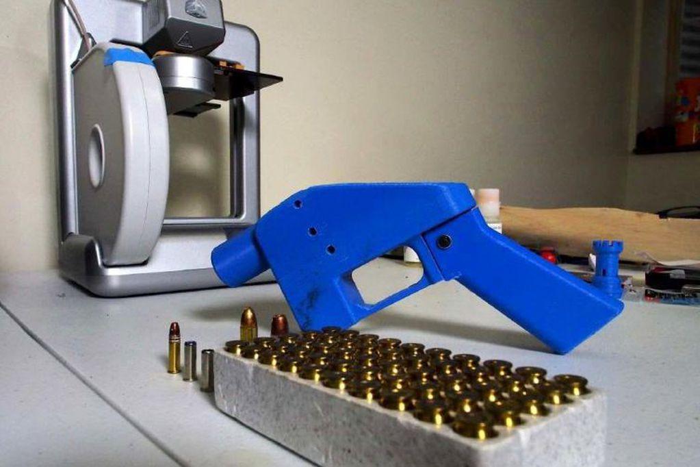 España: allanaron y desmantelaron un taller que fabricaba armas de fuego con impresoras 3D