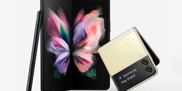 Samsung presentó los nuevos Galaxy Z Fold 3 y Z Flip 3