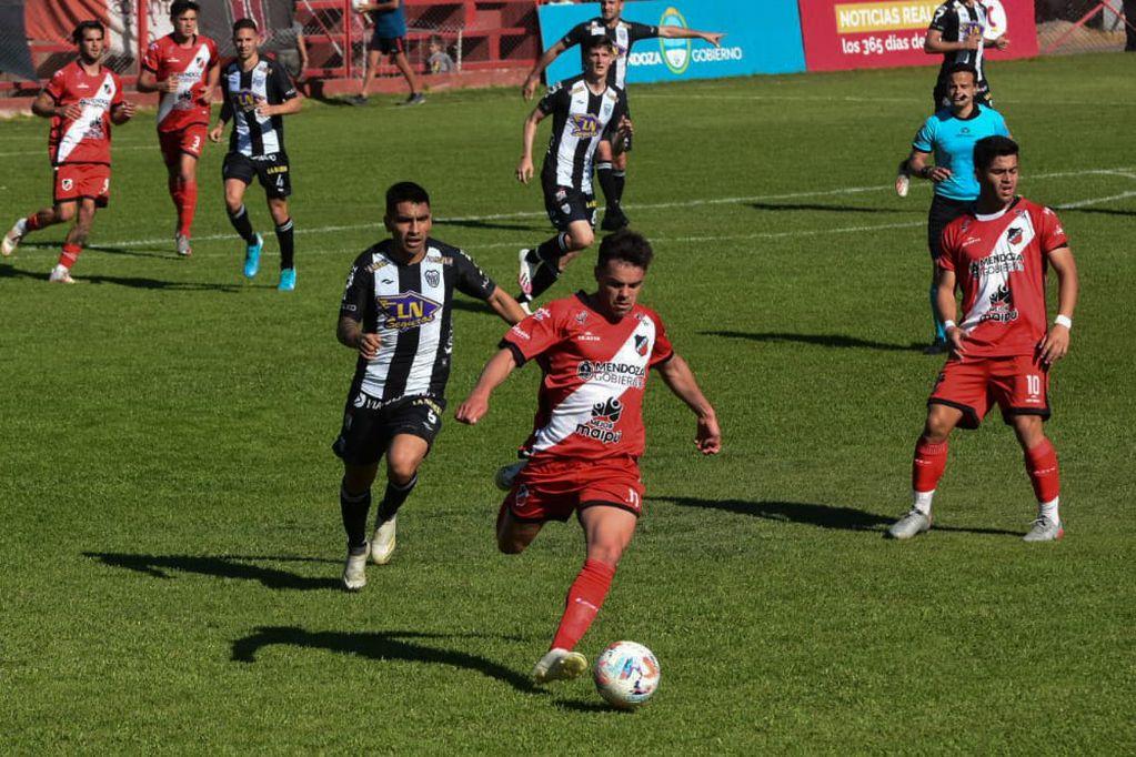 Sumó un punto, pero restó en su juego: Deportivo Maipú igualó con Estudiantes de Buenos Aires 0-0
