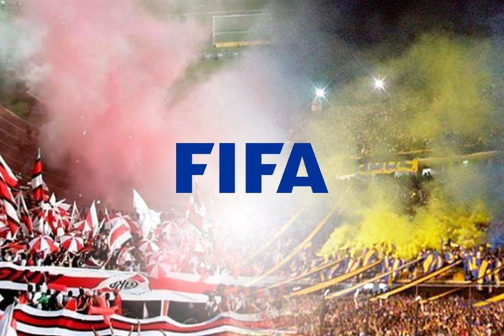 La cuenta oficial de FIFA en twitter se metió en un tema de debate internacional: ¿Quién tiene más pasión, Boca o River? / Gentileza.