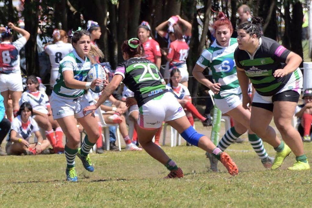 Nacional de Clubes de rugby femenino. /Gentileza prensa de la URC