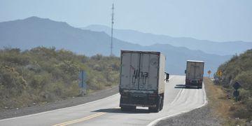 Menos tránsito. En enero de este año cruzaron a Chile casi 1.500 unidades menos que en 2017. Patricio Caneo / Los Andes