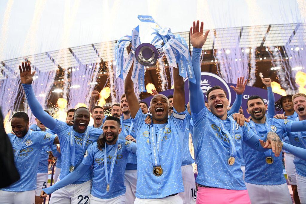 Manchester City, campeón de la Premier League (Twitter @SC_ESPN)